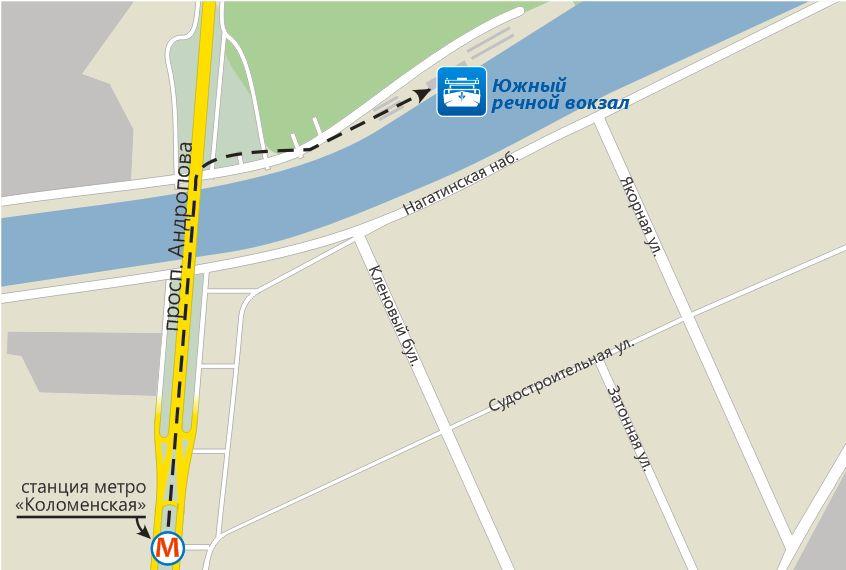 Дублер ленинского проспекта схема